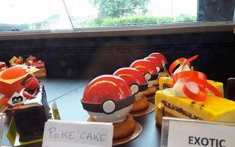 Poke'Cake : les nouvelles pâtisserie en forme de Pokeball à Verdille | Boulangerie | Scoop.it