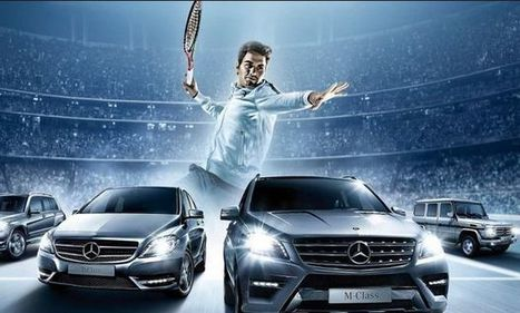 Roger Federer amplía su relación de patrocinio con Mercedes-Benz - La Jugada Financiera | Seo, Social Media Marketing | Scoop.it