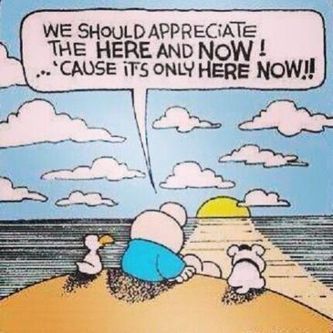 "Twitter / AspiraCE: ""We should appreciate the here ... | Mindfulness | Scoop.it"