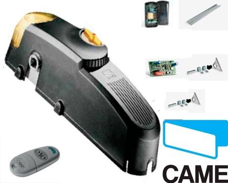 KIT CAME EMEGA motor para puertas basculantes de muelles y contrapesos de hasta 9m².   automatismos   Scoop.it