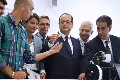 François Hollande promet un plan numériquepour l'école | La-Croix.com | connectée | Scoop.it