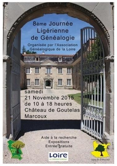 8e Journée ligérienne de généalogie | Rhit Genealogie | Scoop.it