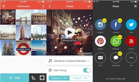 Using Flipagram to Promote Your Business - Business 2 Community | User Generated Content | Scoop.it