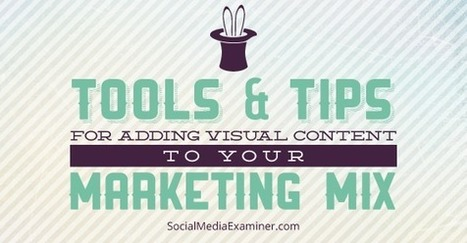 How to Get Started With Visual Content Marketing | Content Marketing and Curation for Small Business | Scoop.it