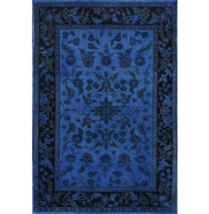 Rugsville Ultramarine Blue Wool Overdyed 12247 Rug - OVERDYED | Discount Area Rugs | Scoop.it