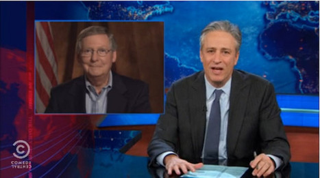 Jon Stewart Wants You To Make #McConnelling Happen (VIDEO) | Daily Crew | Scoop.it