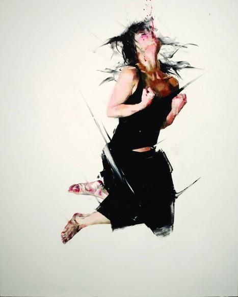 Paintings of Body in Motion | EXTRANGE | Scoop.it