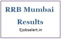 RRB Mumbai Results rrbmumbai.gov.in Result Cut Off | Latest Exam Results | Scoop.it