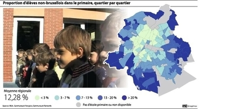 12 % d'élèves de primaire n'habitent pas la Région | Brussels nieuws | Scoop.it