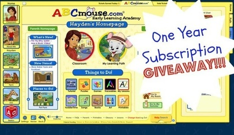 ABCmouse.com Early Learning Academy {Review & One Year Subscription #Giveaway} | Retos de la educación a distancia | Scoop.it