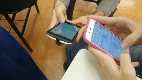 Smartphones & Learning possibilities in the EFL class | Langues et TICE | Scoop.it