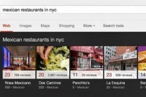 Google inaugure un carrousel d'images pour les recherches locales | M-CRM & Mobile to store | Scoop.it