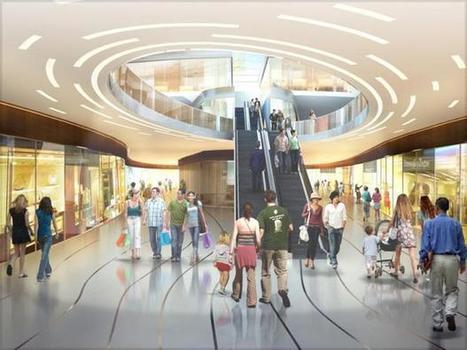 Des centres commerciaux ultra-connectés   Centres de vie connectés   Scoop.it