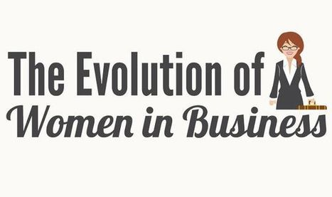 The Evolution of Women in Business #infographic | Soup for thought | Scoop.it