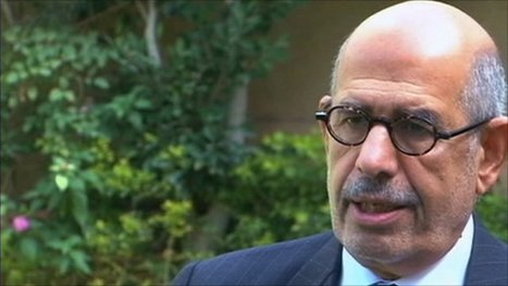 Mohamed ElBaradei: 'It is total chaos. Mubarak must go' | Coveting Freedom | Scoop.it