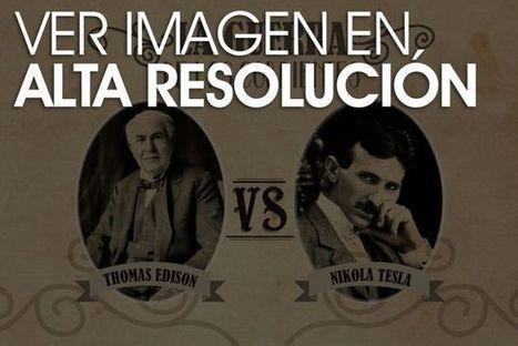 Tesla vs Edison: la guerra de las corrientes | Curiosidades | Scoop.it