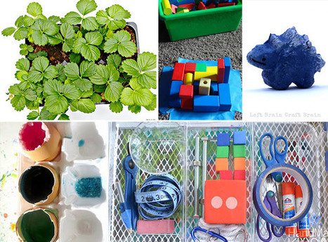 STEM On A Budget: Cheap and Fun Ways to Learn - Left Brain Craft Brain   STEM - Science, Technology, Engineering and Mathematics   Scoop.it