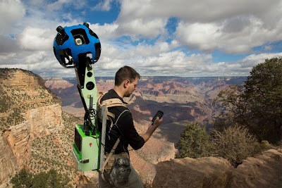 Trekking the Grand Canyon for Google Maps | Geography Education | Scoop.it