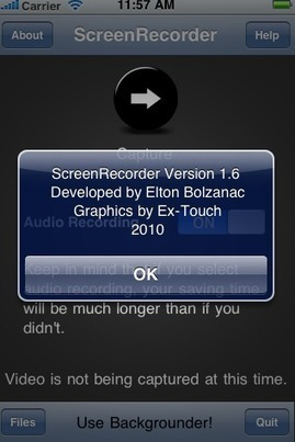 ScreenRecorder   Cool Apps for classroom   Scoop.it