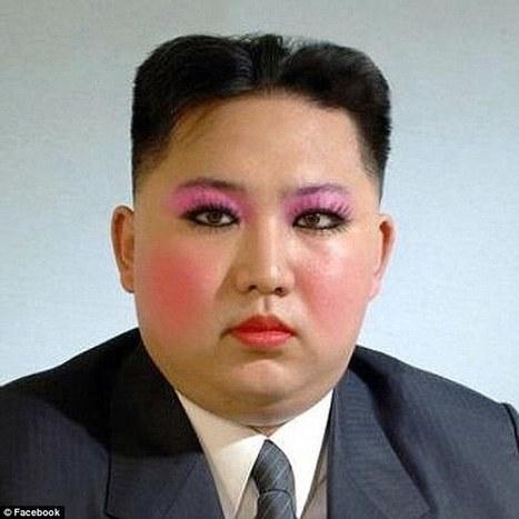 Kim Jong-un gets a drag queen makeover as revenge for Sony hack | @NewDayStarts | Scoop.it