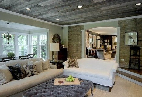 Ceilings -Remember to look up! – Jennifer Brouwer Interior Design | Interior design | Scoop.it