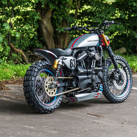 Harley XL883R by Shaw Speed | Bike EXIF | Station | Scoop.it