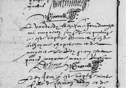 L'acte de baptême de Samuel de Champlain n'a pas été retrouvé | génealogy,genealogie,family history | Scoop.it