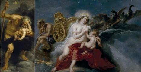 Una lección de astronomía en los cielos del Prado | Mitología clásica | Scoop.it