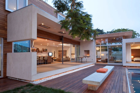 Elegant + Eco-Friendly Appleton Residence in Venice, California | Cool trees | Scoop.it