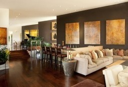 Commanding a Presence: Dark Accent Walls that Make a Statement   Stylicious   Scoop.it