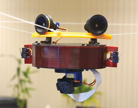 3D-Printed Raspberry Pi Skycam for Drone-Free Aerial Video | Make: | Open Source Hardware News | Scoop.it
