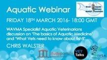 The Basics of Aquatic Medicine - Webinar | ASEM Aquaculture Health | Scoop.it