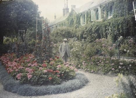 Σπανιότατο φιλμ με τον Claude Monet να ζωγραφίζει στο κήπο του | omnia mea mecum fero | Scoop.it