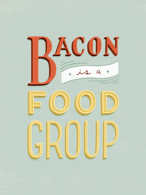 Bacon is a food group. | Diary of a serial foodie | Scoop.it