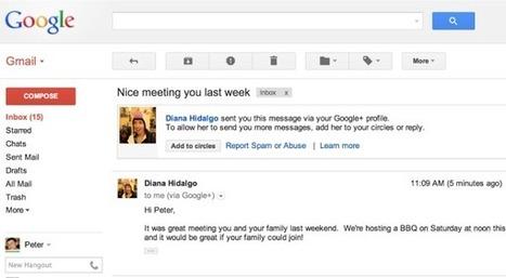 Google va laisser de parfaits inconnus vous contacter sur Gmail: voici comment désactiver la fonctionnalité | 16s3d: Bestioles, opinions & pétitions | Scoop.it