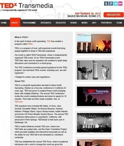TEDxTransmedia third global conference | Digital meets Culture | Digital Culture and Events | Scoop.it