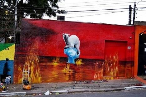 Quand le street-art dénonce des vérités qui dérangent | Innovations dans la culture | Scoop.it