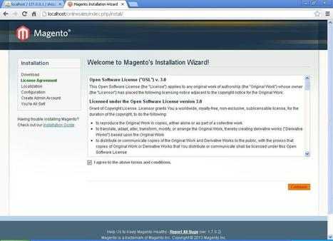 how to install magento on localhost xampp ,magento beginner's tutorial | opensourcecmsinfo | php tutorial,magento tutorial,wordpress tutorial | Scoop.it