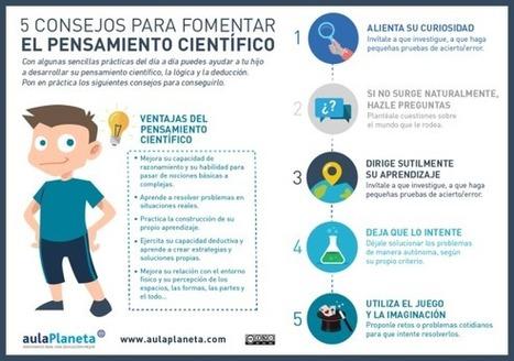 5 Consejos para Fomentar el Pensamiento Crítico en los Niños   Infografía   Educación con Innovación   Scoop.it