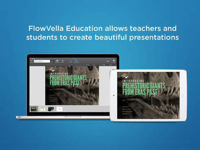 FlowVella Education - Presentation App for Teachers and Students | iPad use for aac and language learning | Scoop.it