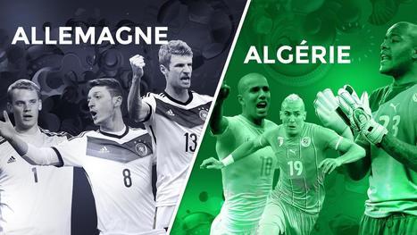 Avant match 1/8 de finale : Allemagne - Algérie - Coupe du monde - Brésil 2014 | Coupe du monde - Brésil 2014 | Scoop.it