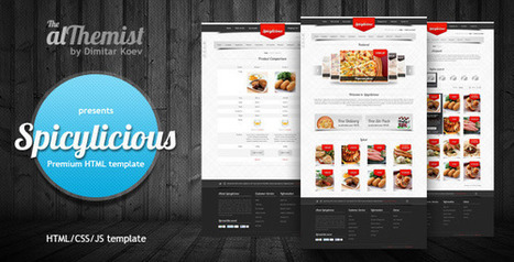 Spicylicious - HTML e-commerce theme - HTML CSS | Themes4Free | Scoop.it