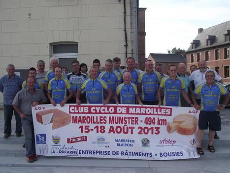 Une «route du fromage» ralliera Maroilles à Munster à vélo en août | The Voice of Cheese | Scoop.it