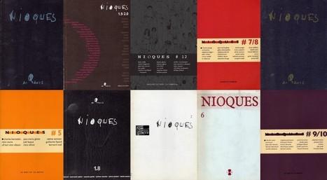 La revue Nioques téléchargeable | e-littérature | Scoop.it