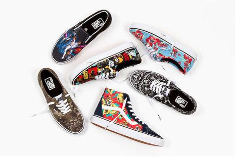 Vans dévoile deux collections en hommage à Star Wars   Suivons la mode   Scoop.it
