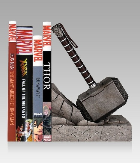 Thor's Hammer Turned Into a Bookend | Geek On | Scoop.it