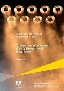 Panorama des Industries Créatives et Culturelles en France - Agence Française pour le Jeu Vidéo | culture, industries créatives, innovation | Scoop.it