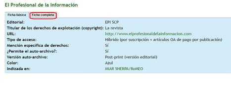 ¿Cuándo deposito un documento en un repositorio de acceso abierto cómo se si es legal o no autoarchivarlo? | Las Tics y las ciencias de la informacion | Scoop.it