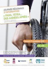 Une journée dédiée aux blessés médullaires le 17 novembre à Bordeaux : inscrivez-vous ! | Génération en action | Scoop.it