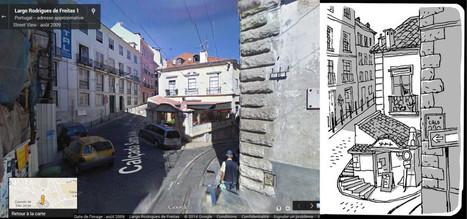 Croquis vs Google Maps, par Guy Delisle | Enseigner l'Histoire-Géographie | Scoop.it